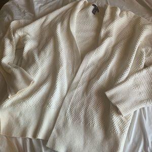 White GAP cardigan
